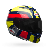 Bell RS-2 Gloss Hi-Viz Yellow/Navy/Red Empire Helmet