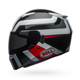 Bell RS-2 Gloss White/Black/Red Empire Helmet