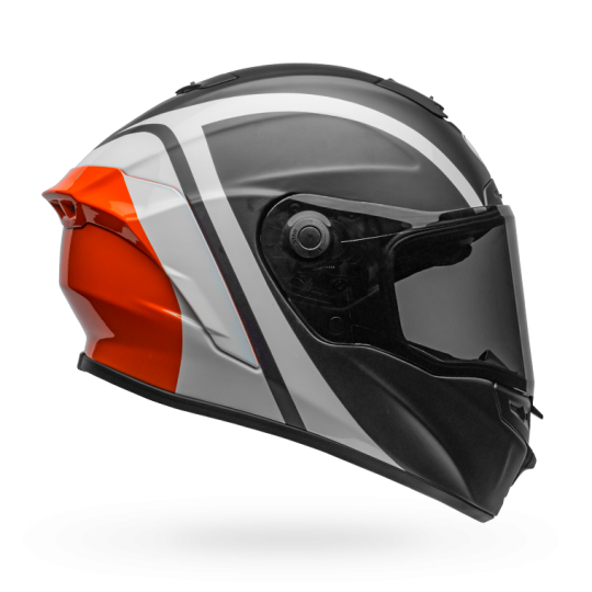 Bell Star Mips-Equipped Tantrum Matte/Gloss Black/White/Orange Helmet