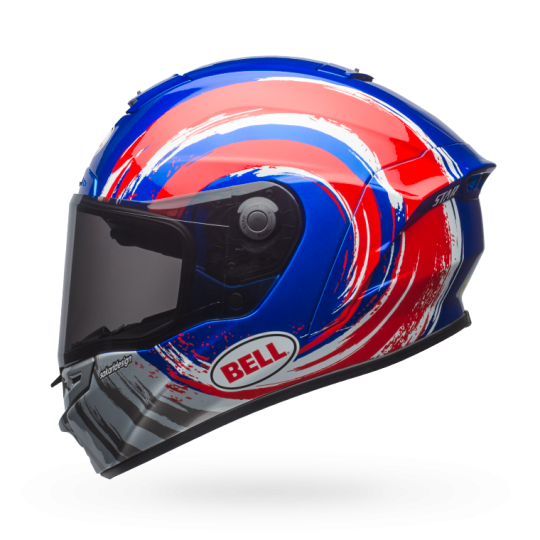 Bell Star Mips-Equipped Brad Binder Replica Gloss Blue/Red/Silver Helmet