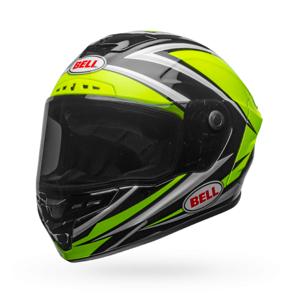 Bell Star Mips-Equipped Gloss Hi-Viz Green/Black Torsion Helmet