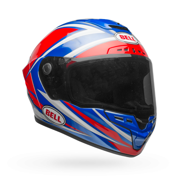 Bell Star Mips-Equipped Gloss Red/Blue Torsion Helmet
