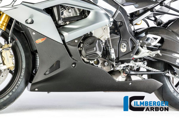 Ilmberger-Carbon Fiber Bellypan Street Long Version for BMW S1000RR 2017-2018