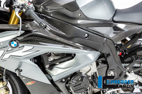 Ilmberger-Carbon Fiber Fairing Side Panel Upper Part Left for BMW S1000RR 2017-2018