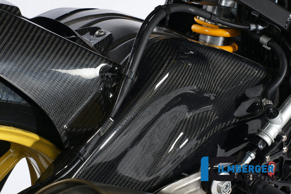 ILMBERGER SWING ARM COVERS (SET - LEFT AND RIGHT) CARBON - BMW S 1000 RR STOCKSPORT/RACING (2010-NOW)