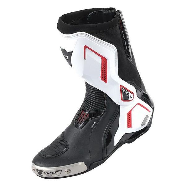 Dainese Torque Out D1 Boots - EU42 - Black/White/Lava-Red