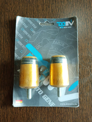 DMV Handle Bar Ends Gold