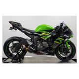 Graves Hexagonal Slip-On Exhaust for Kawasaki ZX6R