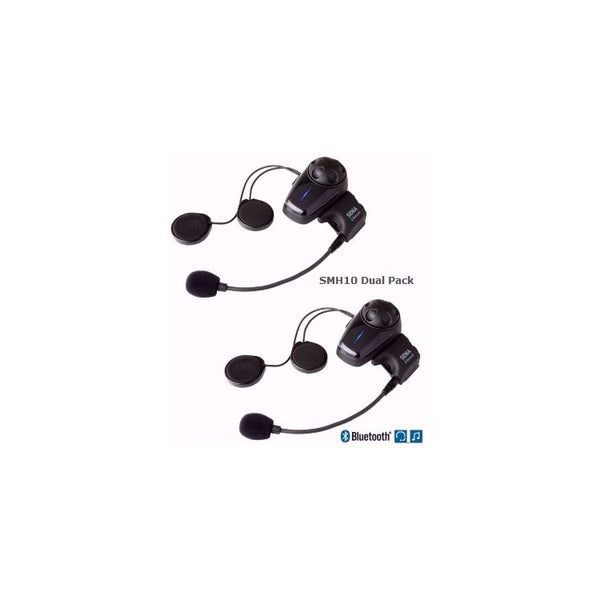 Sena SMH-10 Bluetooth Headset Dual Pack