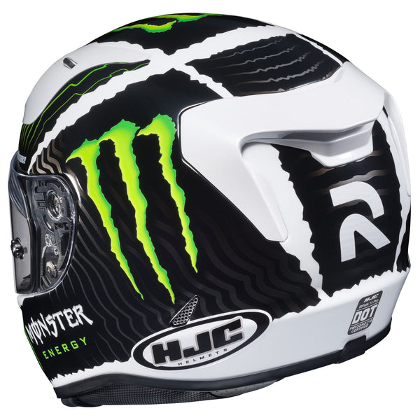 HJC RPHA 11 Pro Monster Military White Sand Helmet