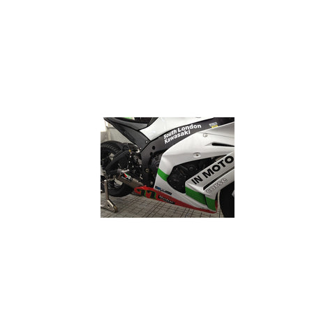 Austin Racing GP3 De-Cat Exhaust System for Kawasaki ZX-10R