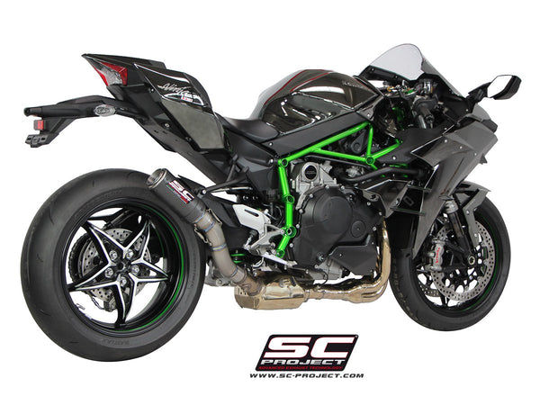 SC Project CR-T Slip-On Exhaust for Kawasaki Ninja H2