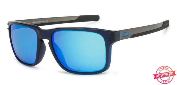 Oakley Black Gunmetal Blue Mirror 03 Unisex Sunglasses