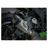 Yoshimura Alpha T Works Street Slip-On Exhaust for Kawasaki ZX10RR