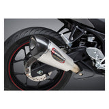 Yoshimura Alpha T Works Street Slip-On Exhaust for Yamaha R3