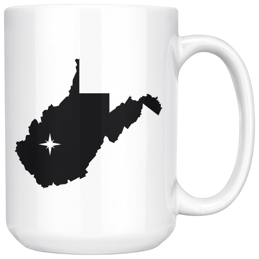 West Virginia Coffee Mug - WV - MissionMint