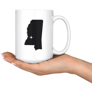 Mississippi MS Coffee Mug 15 oz