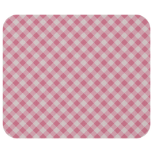 Load image into Gallery viewer, Mouse Pad Pink Gingham Pattern - MissionMint
