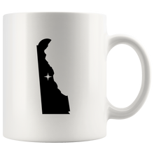 Load image into Gallery viewer, Delaware Coffee Mug - White 11oz - DE - MissionMint