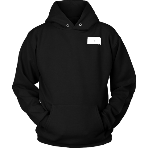 South Dakota SD Unisex Hoodie - MissionMint