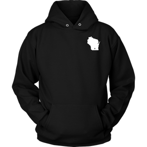 Wisconsin WI Unisex Hoodie - MissionMint