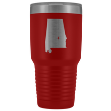 Load image into Gallery viewer, Alabama Tumbler Travel Map Adoption Moving Gift - 30oz - MissionMint