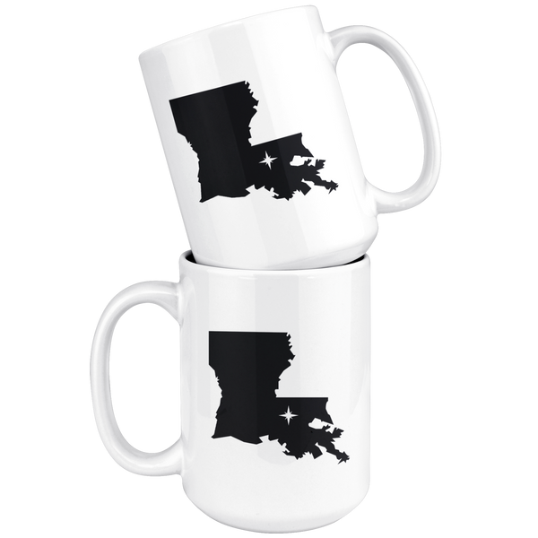 Louisiana Coffee Mug - LA - MissionMint