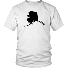Load image into Gallery viewer, Alaska Map Unisex Shirt - MissionMint