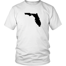 Load image into Gallery viewer, Florida Map Unisex Shirt - MissionMint