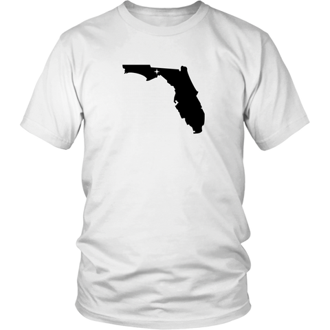 Florida Map Unisex Shirt - MissionMint