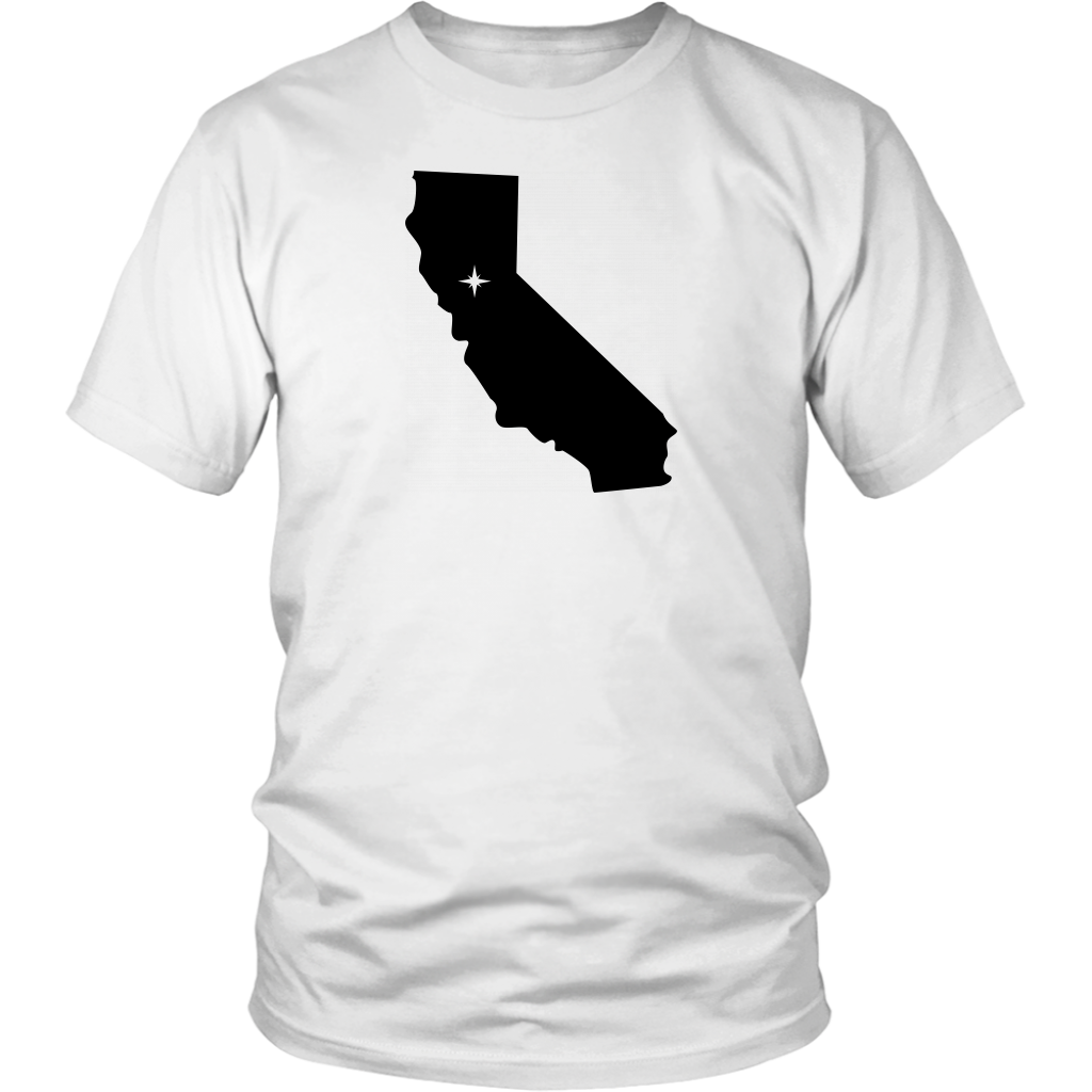 California Map Unisex Shirt - MissionMint