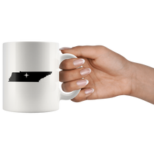 Load image into Gallery viewer, Tennessee Coffee Mug - White 11oz - TN - MissionMint