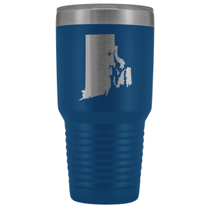 Rhode Island Tumbler Travel Map Adoption Moving Gift - 30oz - MissionMint