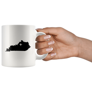 Kentucky Coffee Mug - White 11oz - KY - MissionMint