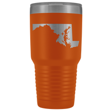 Load image into Gallery viewer, Maryland Tumbler Travel Map Adoption Moving Gift - 30oz - MissionMint