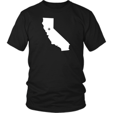 Load image into Gallery viewer, California Map Unisex Shirt - MissionMint