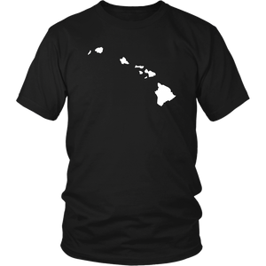 Hawaii Map Unisex Shirt - MissionMint