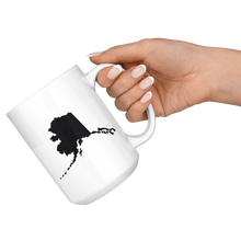 Load image into Gallery viewer, Alaska Coffee Mug - AK - MissionMint