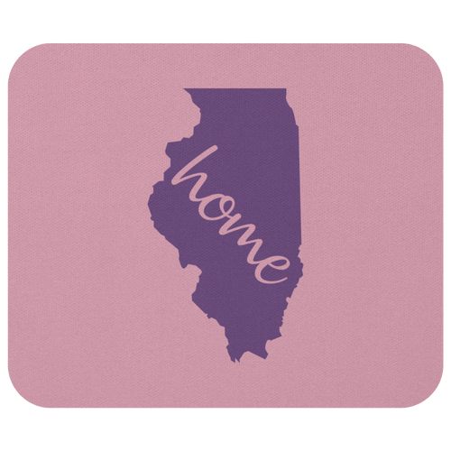 Illinois Computer Mouse Pad Desk Accessory - MissionMint