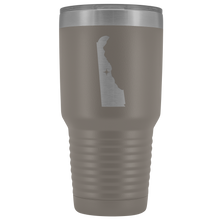 Load image into Gallery viewer, Delaware Tumbler Travel Map Adoption Moving Gift - 30oz - MissionMint
