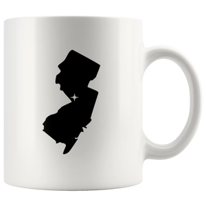 New Jersey NJ Coffee Mug - White 11 oz