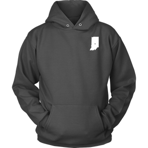 Indiana IN Unisex Hoodie - MissionMint