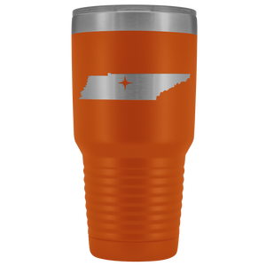 Tennessee Tumbler Travel Map Adoption Moving Gift - 30oz - MissionMint