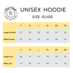 Mongolia Map Unisex Hoodie Home Country Pride Gift