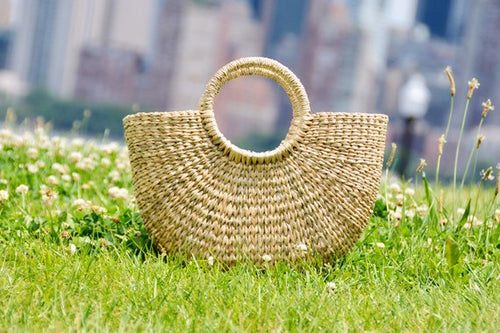 Moon Straw Bag - MissionMint