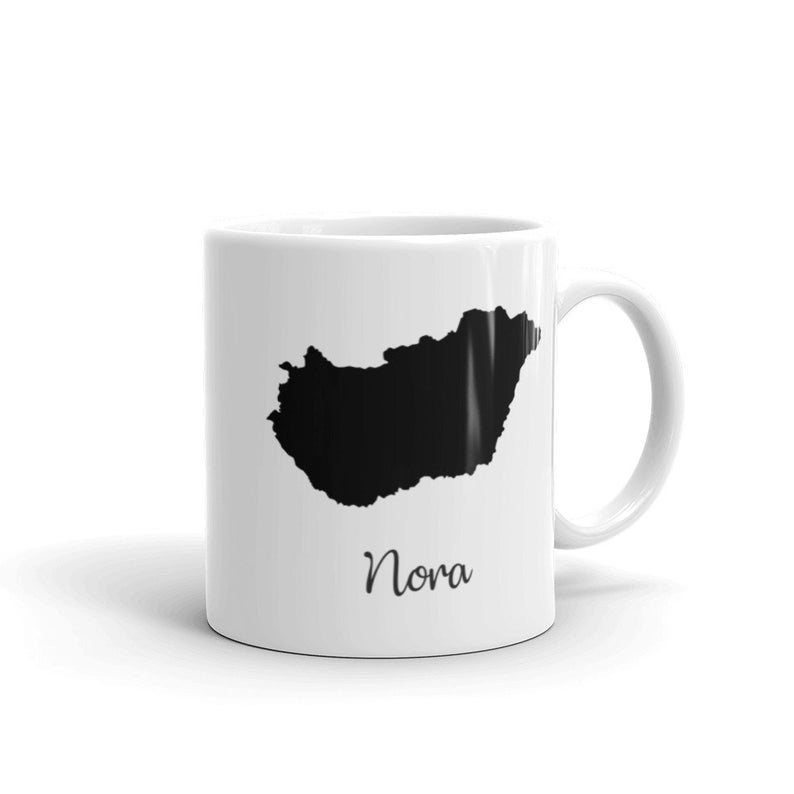 Hungary Mug Travel Map Hometown Moving Gift