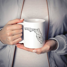 Load image into Gallery viewer, Florida FL Mandala Mug