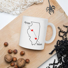 Load image into Gallery viewer, Long Distance Custom State Map Mug