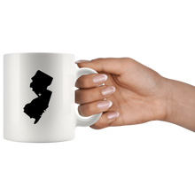 Load image into Gallery viewer, New Jersey Coffee Mug - White 11oz - NJ - MissionMint