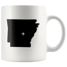 Load image into Gallery viewer, Arkansas Coffee Mug - 11oz. - AR - MissionMint